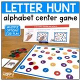 Letter Hunt Alphabet Center Game