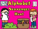 Letter Hunt:  Alphabet Worksheets