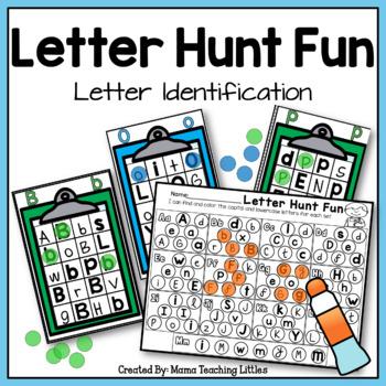 Letter Hunt Fun  - Letter Identification