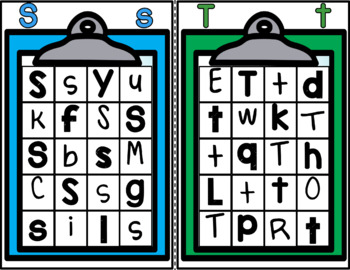 Letter Hunt Fun  - Letter Identification