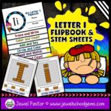 Letter I Alphabet Flip Book (Alphabet Interactive Notebook