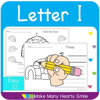 Easy 10: Letter I