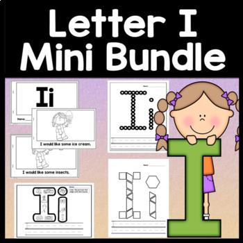 Letter I Activities {Letter I Book and 5 Letter I Worksheets!}