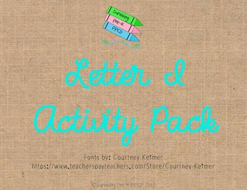 Letter I Activity Pack
