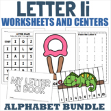 Letter I Activity and Center Packet