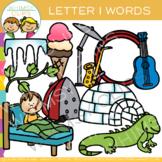 Letter I Clip Art { Alphabet Beginning Sounds Clip Art}