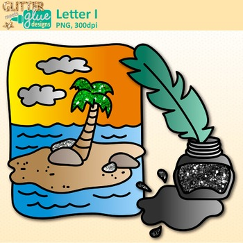 Letter I Alphabet Clip Art {Teach Phonics, Recognition, and Identification}