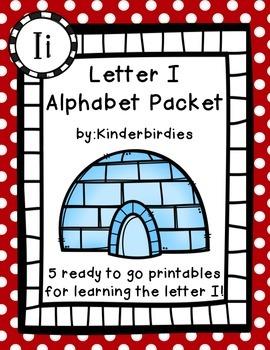 Letter I Alphabet Packet