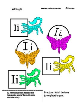 Letter I - BASIC Alphabet Curriculum for Preschool and Kindergarten