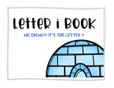 Letter I Book: Handwriting Practice