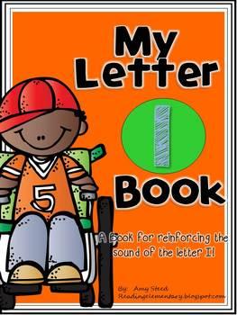 Letter I Book of Beginning Sounds-Emergent Reader w/Runnin