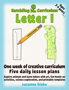Letter I Bundle: 1 Week Of Complete Curriculum Lessons