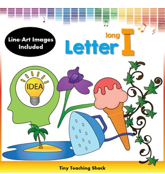 Letter I Clip Art (Long I)