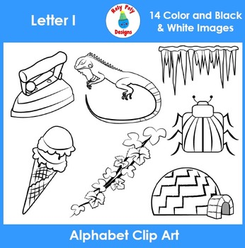 Letter I Clip Art Set