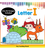 Letter I Clip Art (Short I)