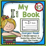 Letter I Emergent Reader for Alphabet Recognition, Rhymes, and Handwriting