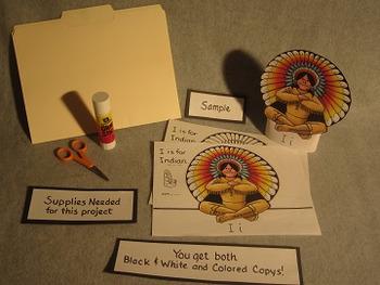 Letter I Fun Alphabet Project