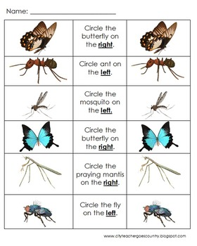 Letter I - Insects Thematic Unit for PreSchool & Early Kindergarten