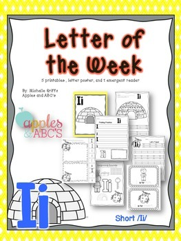 Letter I {Letter of the Week}