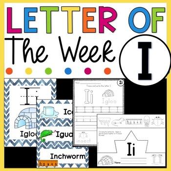 Letter I - Letter of the Week I - Letter of the Day I