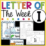 Letter I - Letter of the Week I - Letter of the Day I