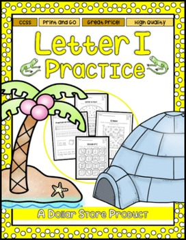 Letter I Practice Printables