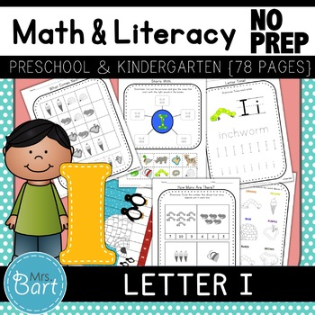 Letter I Activities- 46 Pages! {Common Core}
