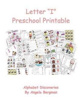 Letter I ~ Preschool Unit