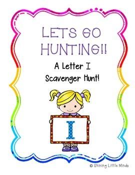 Letter I Scavenger Hunt