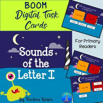 Letter I Sounds: with BOOM Learning Digital Task Cards