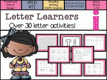Letter Learners: Letter I