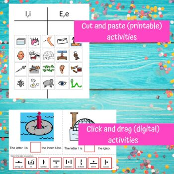 Letter of the Week Letter I Unit for Special Education