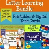 Letter I Word Work Digital and Printable Bundle