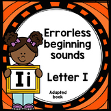 Letter I adapted book errorless learning