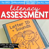 Letter ID + Beginning Letter Sound Assessment - Literacy R
