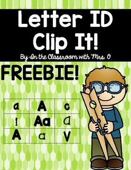 Letter ID Clip It!