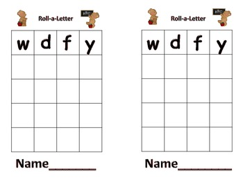 Letter ID & Graphing