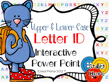 Letter ID Interactive Power Point