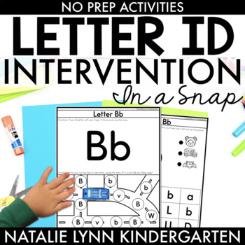 Letter Identification (Letter ID) Intervention and RtI In a Snap