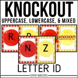 Letter ID KNOCKOUT {Mixed Groups, Lowercase, & Uppercase}
