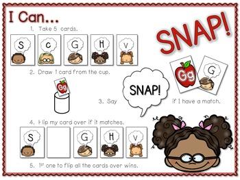 PHONICS ~ SNAP!  Letter Identification