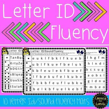 Letter ID/Sound Fluency Mats