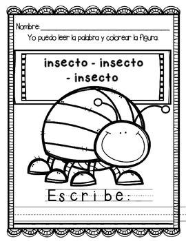 In Spanish {Letter i / La letra i}
