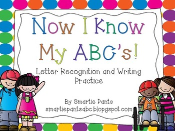 Letter Identifcation and Writing Pack