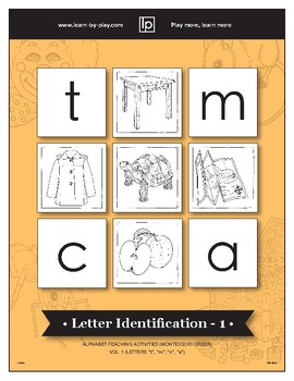 Letter Identification - 1 -- Alphabet-Learning - Montessori... (Sample)