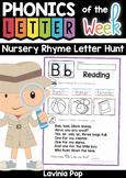 Nursery Rhyme Letter Hunt