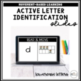 Letter Identification Activities (Lowercase Letters) | Dis