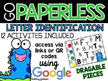 Letter Identification Activities using Google Slides