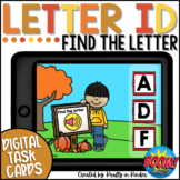Letter Identification Activity BOOM Cards