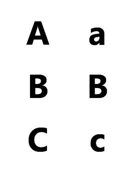 Letter Identification Assessment